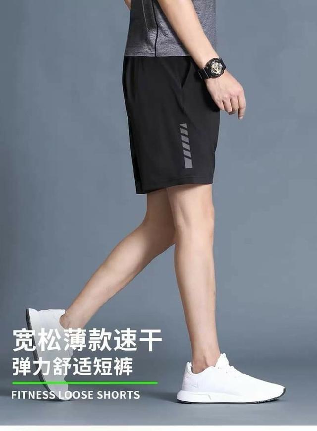 男士休閒褲夏季寬鬆運動健身短褲
