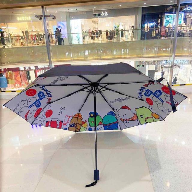 角落小夥伴雨晴兩用全自動傘