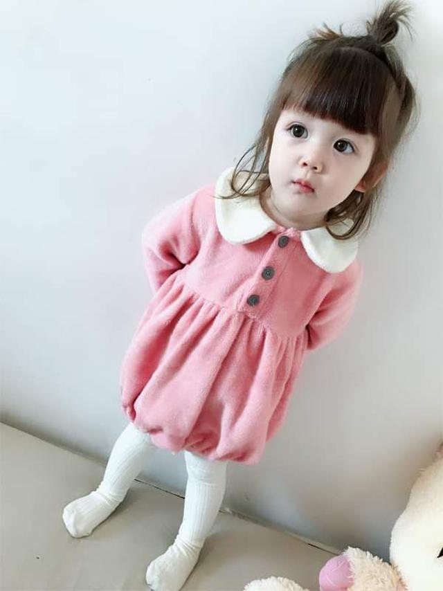 【預購】寶寶不倒絨連身衣
