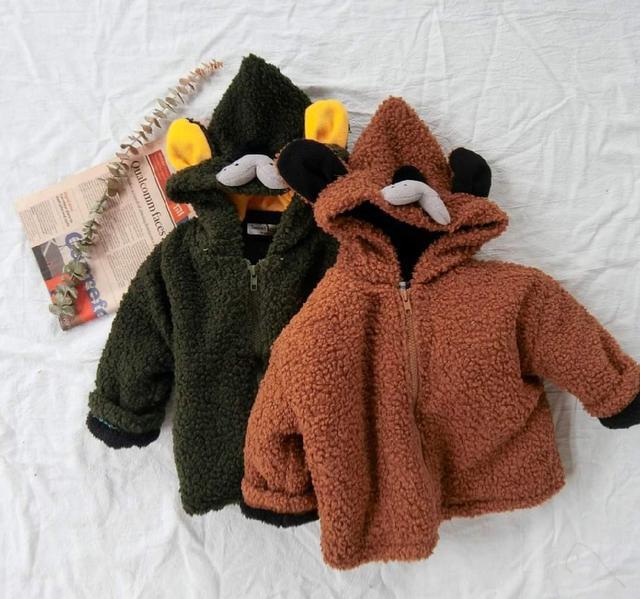 【預購】狗狗造型毛絨外套