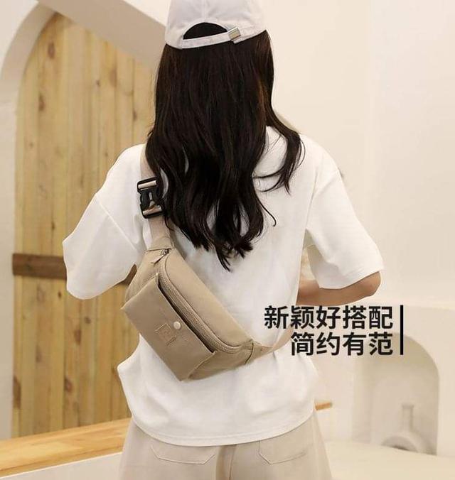 C185簡約防潑水胸包