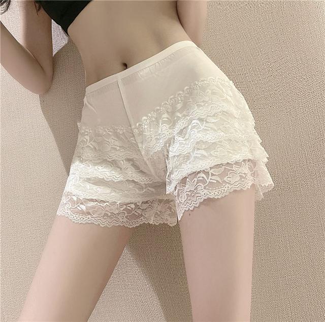 34673  蕾絲寬鬆薄款防走光安全褲