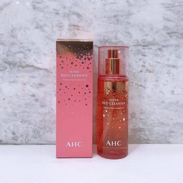 AHC紅色凝膠潔面