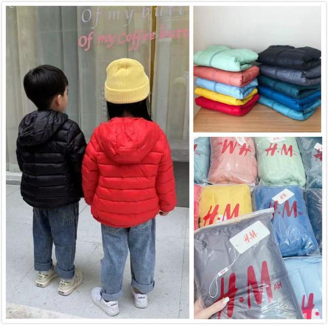 🌈預購商品🌈HM糖果色輕薄羽絨外套(10色)