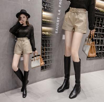 11/20 S-XL 網紅高腰不規則pu半身裙(3色)