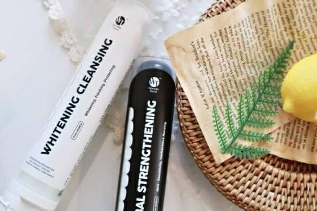 WONDER TREND 美白潔齒牙膏 日用白管 / 夜用黑管 1+1 下殺大特惠