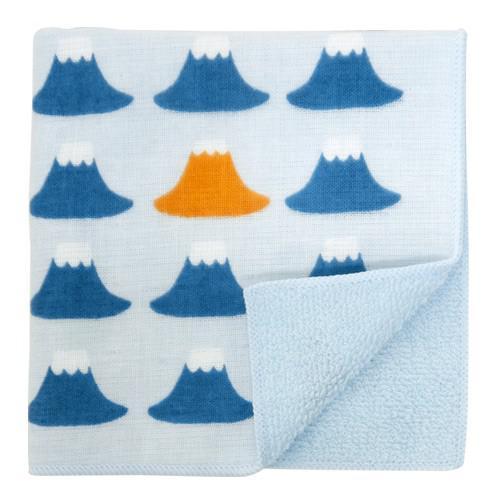 濱文樣   純棉二重織手帕毛巾