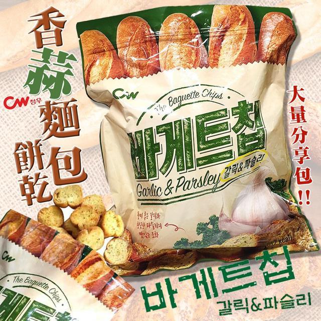 韓國CW香蒜麵包餅乾400g