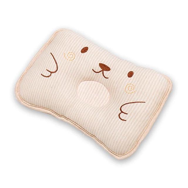 枕頭新生兒定型枕夏季純棉四季通用6個月初生LSJ19072901