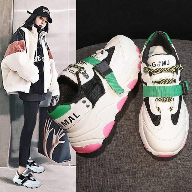 春季2020老爹鞋增高運動鞋