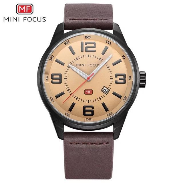 預購 - Mini Focus 精品手錶 黃黑色