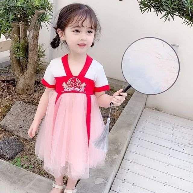【預購】女童民族風洋裝