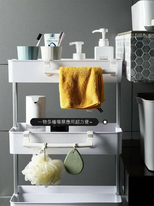 (預購S) G734 - 日式夾層櫃櫃門毛巾架(一組3個)