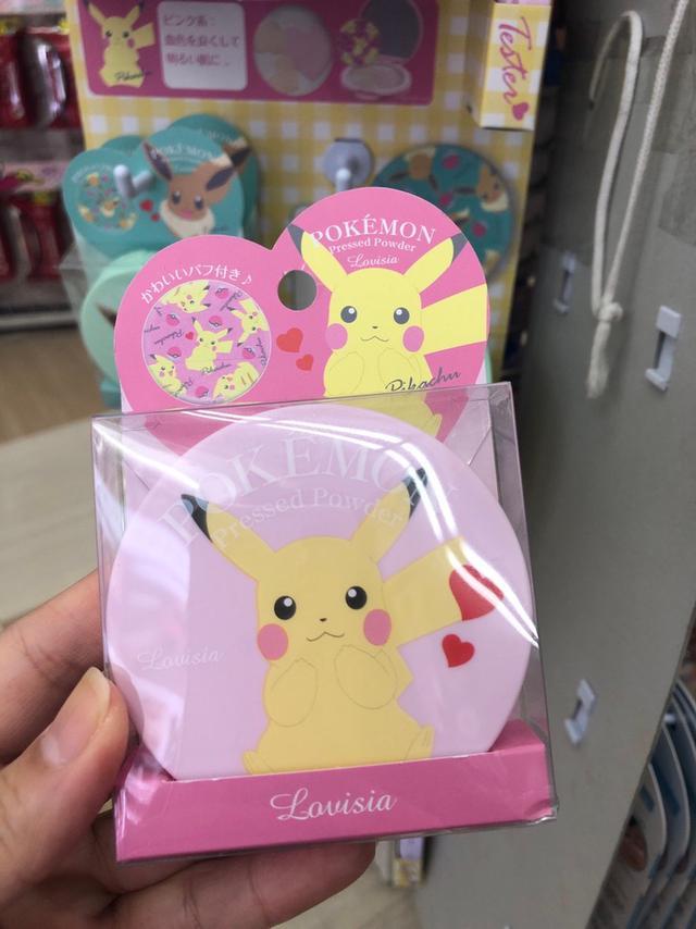 日本連線 寶可系列 POKEMON 聯名蜜粉餅