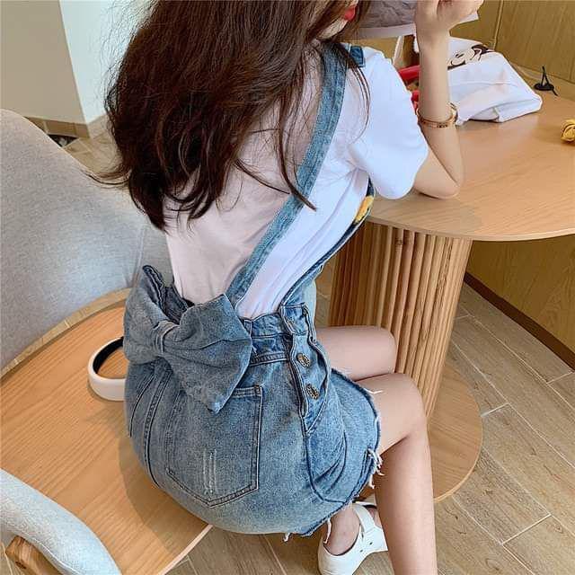 【預購】蝴蝶結吊帶裙套裝