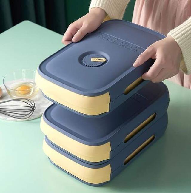 P645家用冰箱抽屜式雞蛋保鮮盒