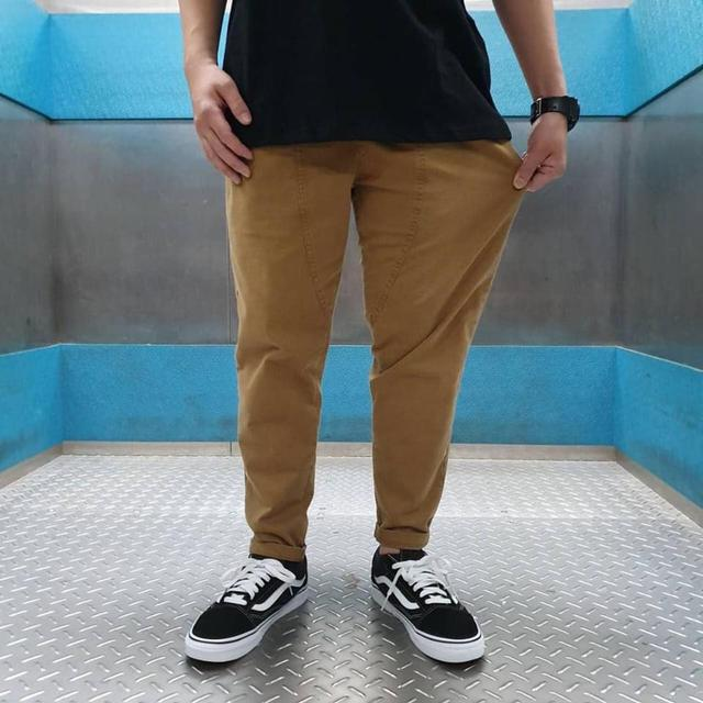 預購 男女老少都可以駕馭 💝韓平價超強款顯瘦口袋老爺褲