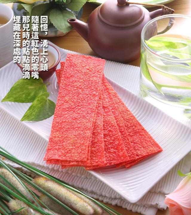 【台灣】鱈魚風味紅片150g