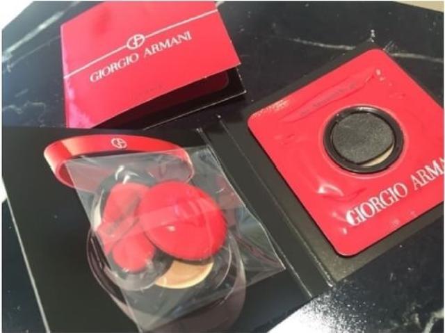 GIORGIO ARMANI亞曼尼 訂製絲光精華氣墊粉餅