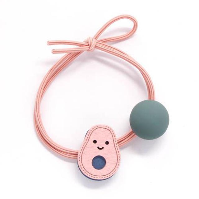 酪梨寶寶圓珠髮圈