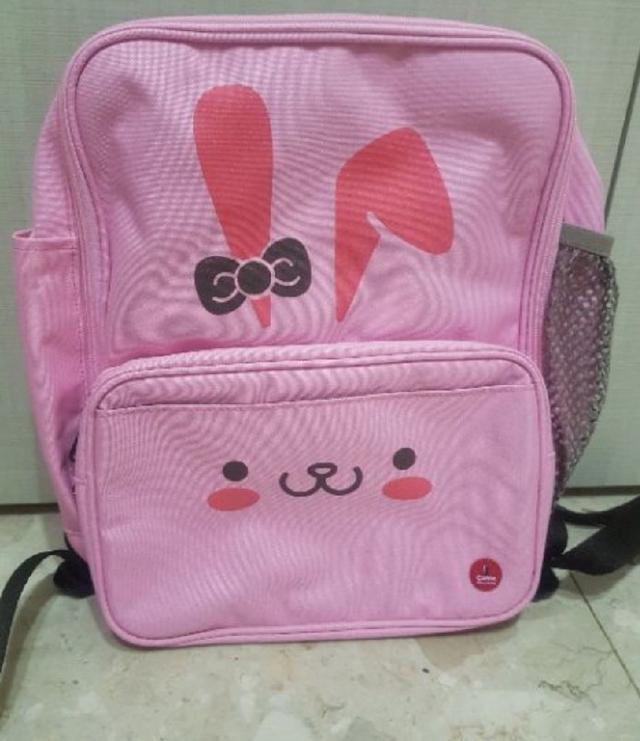 現貨CORRE護脊輕量書包粉色兔子(大款)