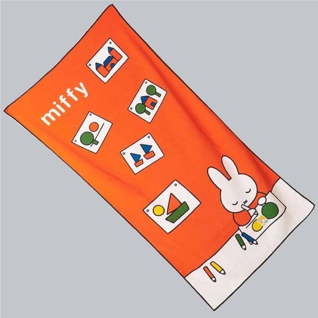 臺灣正版米菲兔超細纖維萬用浴巾
