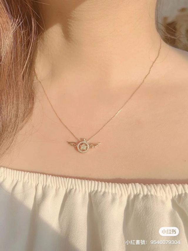 魔法翅膀BB戒指項鍊