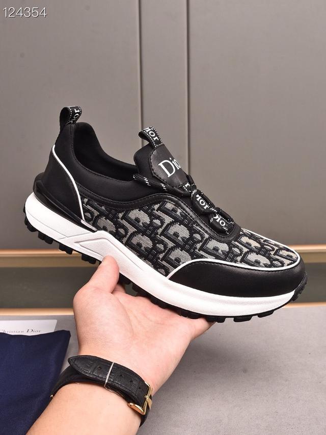 男鞋 頂級原單 【迪奧·Dior】2021新款休閒韓版男鞋,全新春夏季款設計
