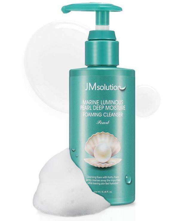 韓國JM solution 海洋珍珠深層保濕泡沫洗面乳200ml