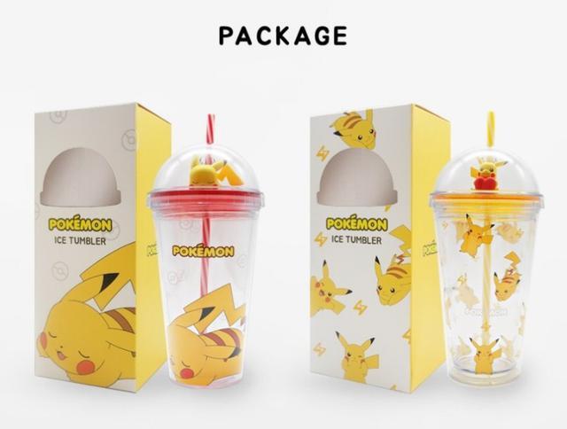 韓國 限量可愛比卡邱造型杯