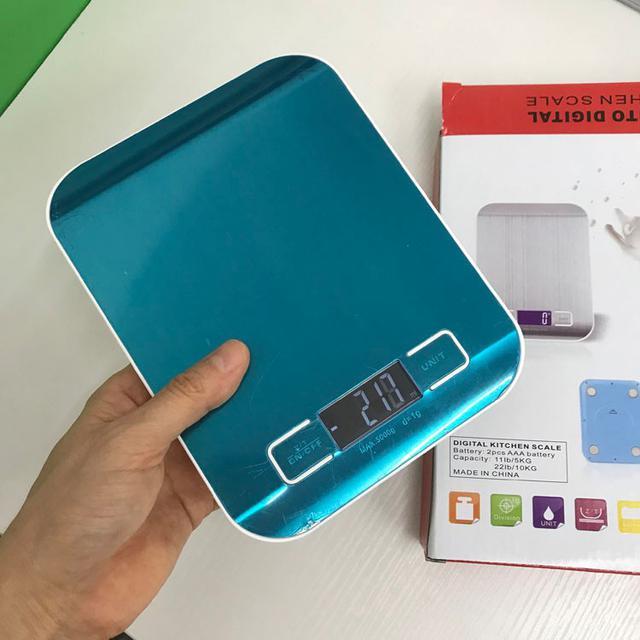 1g/5kg 白光 不鏽鋼電子秤 烘焙專廚房秤/磅秤/料理秤/平板秤
