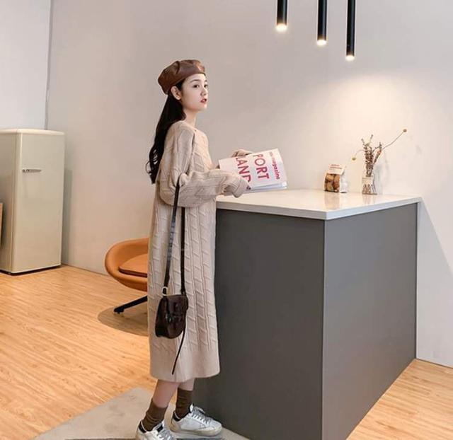 【預購】韓版針織洋裝