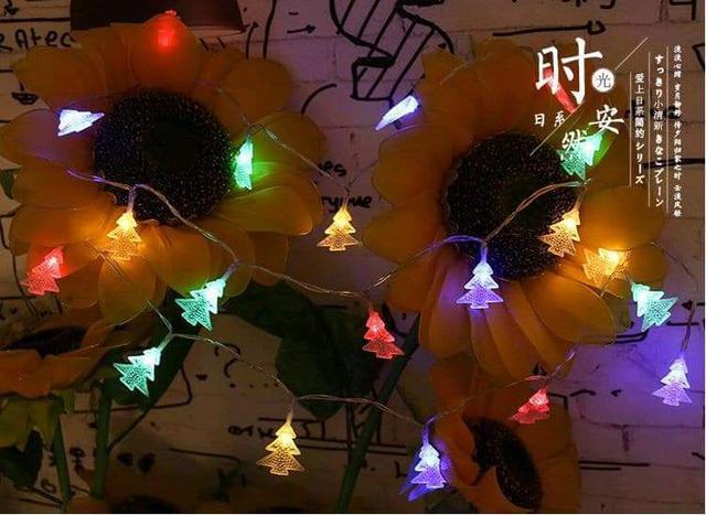 (預購S) LED聖誕樹彩色燈串