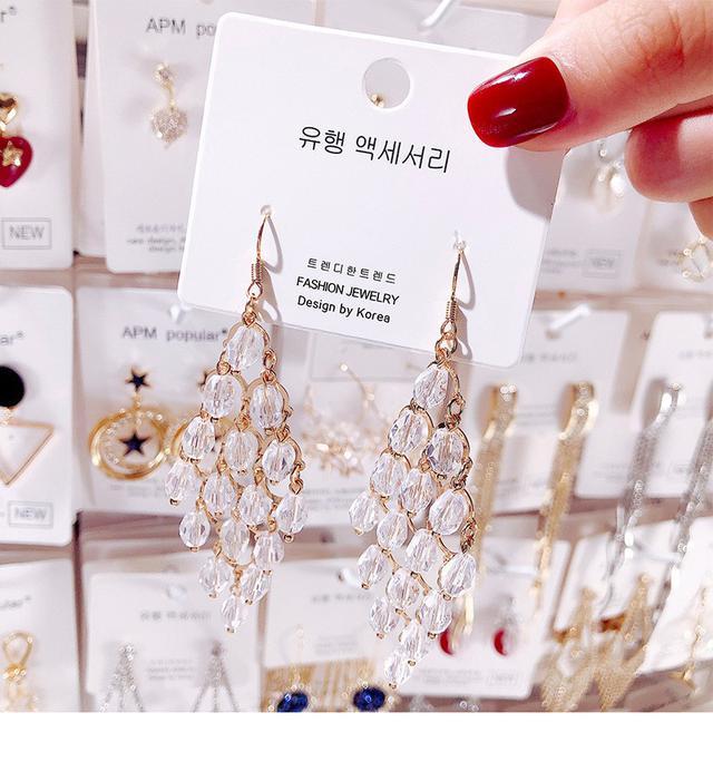 水晶高檔耳環