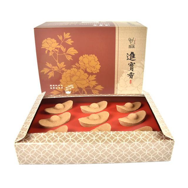 天華TENHUA 開運香品 陶朱進寶香 (27入/盒裝)