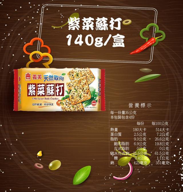 全新品現貨 義美天然取向蘇打餅乾 140g / 盒 蔬菜 鮮蔥 紫菜 蘇打餅乾 天然 無添加