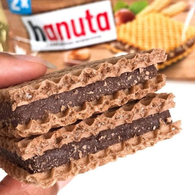 預購 德國限定版Hanuta經典巧克力威化餅