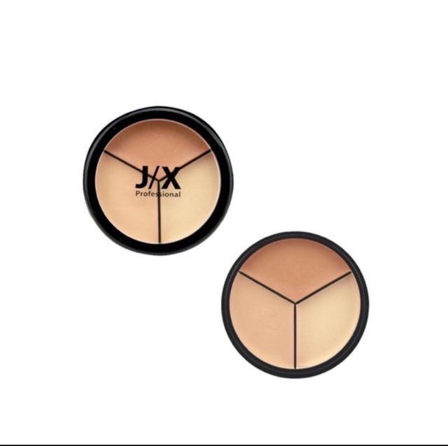 【代購】J/X PONY大師 無破綻全完美三色遮瑕盤