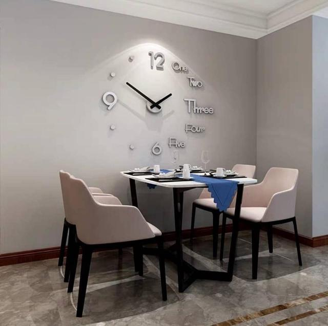 🌟DiY立體壁貼時鐘🌟