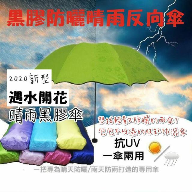 現貨  🔥2020新款遇水開花晴雨兩用防曬反向傘🔥