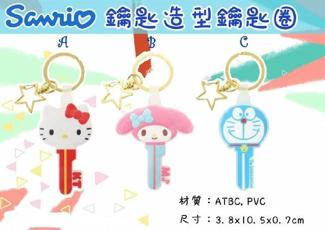 三麗鷗 哆啦耶夢 造型鑰匙圈