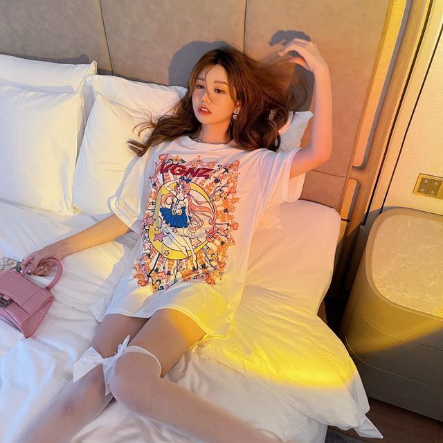 美少女蝴蝶結爆款短袖