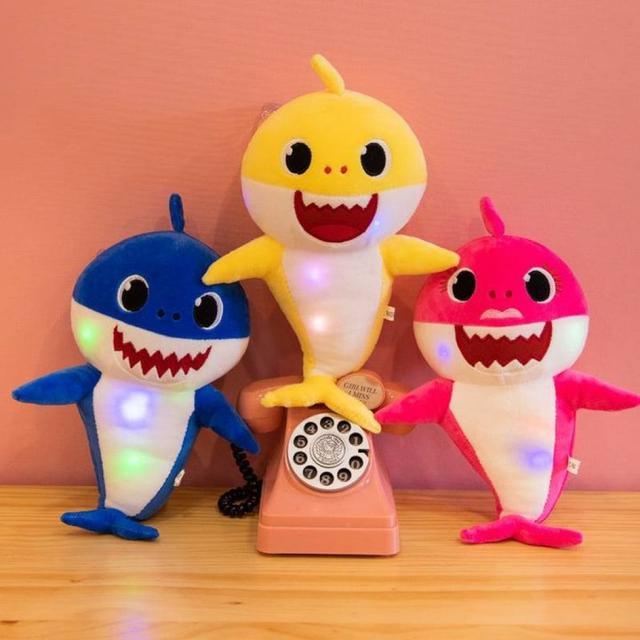 #預購G991 - Baby shark燈光音樂鯊魚寶寶娃娃