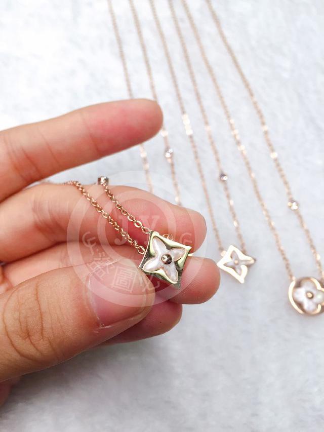 (預購e) 老花圖騰系列 玫瑰金貝殼造型項鍊
