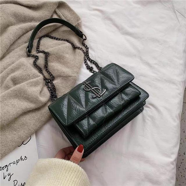 YSL包包女2020新款时尚高级感链条单肩包质感 潮斜挎包春夏小包包