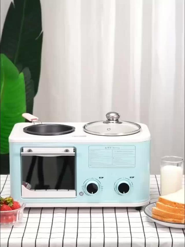 (預購)四合一早餐機