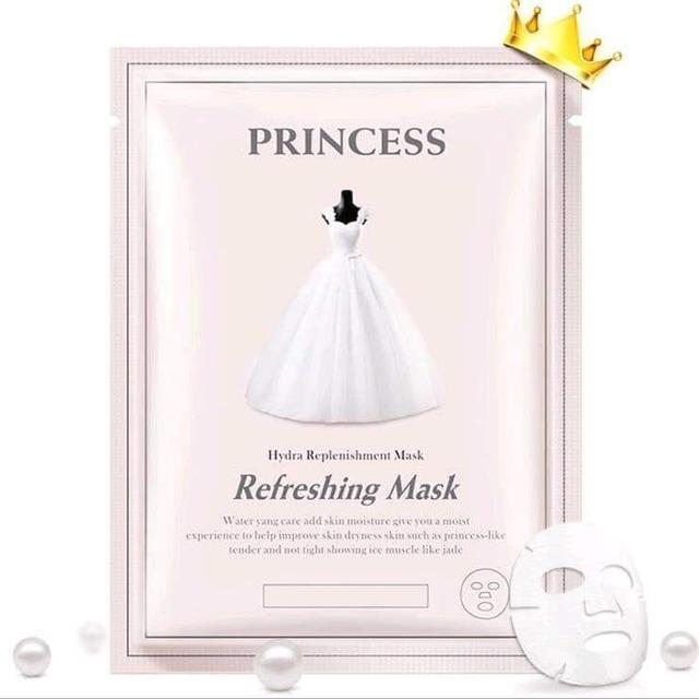 (預購S)奢華公主禮服補水面膜