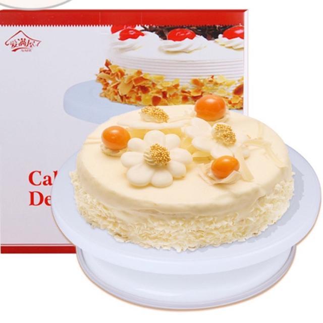 28CM裱花轉台10吋 防滑 蛋糕轉台 蛋糕轉盤裱花轉盤蛋糕裱花 烘焙工具
