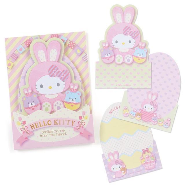 現貨 日本製 Hello Kitty 復活節彩蛋 便利貼 便條紙