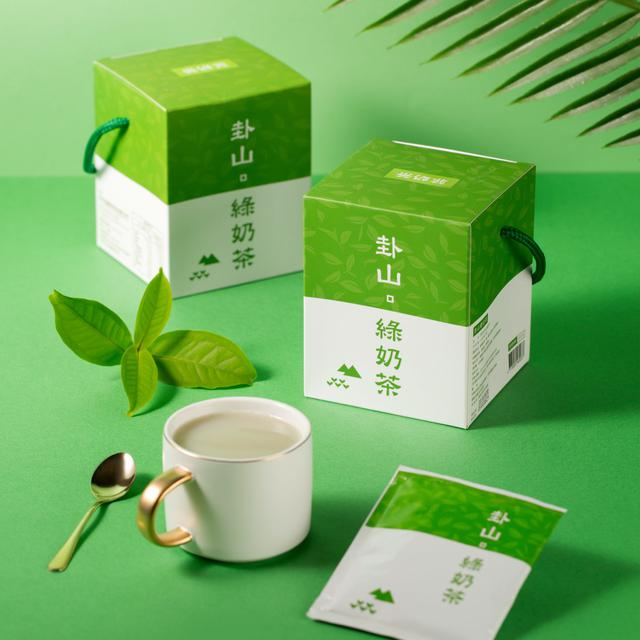 卦山綠奶茶